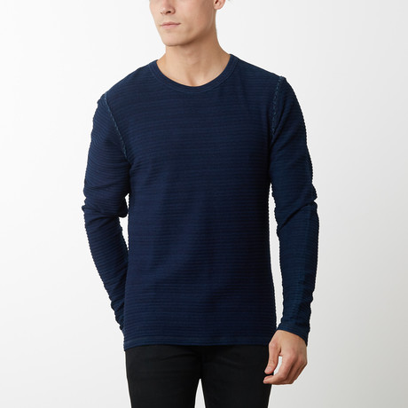 Walter Long Sleeve Pullover // Navy (S)