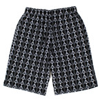 Marcelo Burlon // Kappa All Over Shorts // Black (XS)