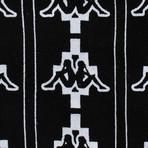 Marcelo Burlon // Kappa All Over Crew Neck Sweatshirt // Black + White (XS)