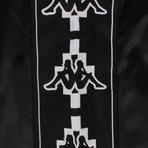 Marcelo Burlon // Kappa Tape Jersey Shorts // Black (L)