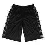 Marcelo Burlon // Kappa Tape Jersey Shorts // Black (XS)
