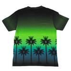 Marcelo Burlon // Palm Tree Short Sleeve T-Shirt // Green (S)