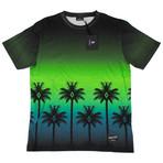 Marcelo Burlon // Palm Tree Short Sleeve T-Shirt // Green (M)