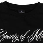 Marcelo Burlon // Wonk Crew Neck Sweatshirt // Black (XL)