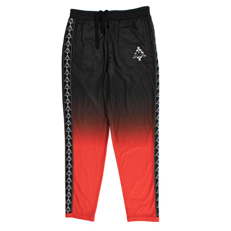 Marcelo Burlon // Kappa Gradient Pants // Black + Red (XS)