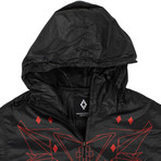 Marcelo Burlon // Lamborghini Windbreaker Jacket // Black (L)