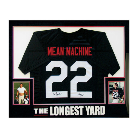 Signed Jersey // The Longest Yard // Burt Reynolds
