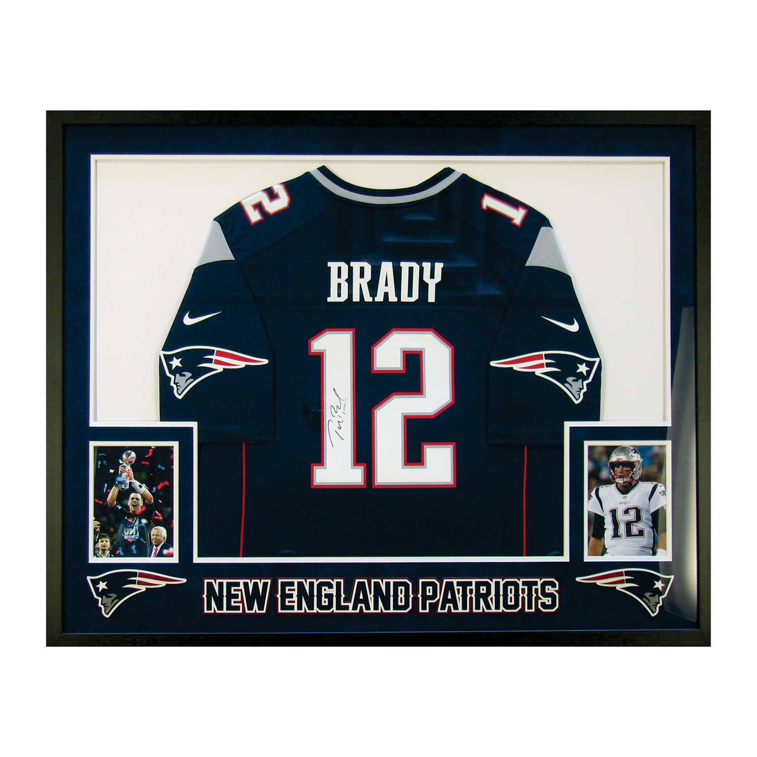 cheaper 80d0a fb4e2 Signed Jersey // Tom Brady - CLEARANCE: Just For Fun - Touch ...