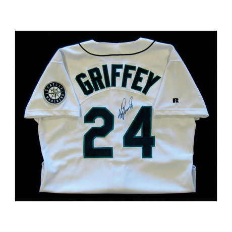 Autographed Game Worn Jersey // Ken Griffey