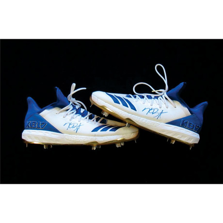 Autographed Game Worn Shoes // Kris Bryant