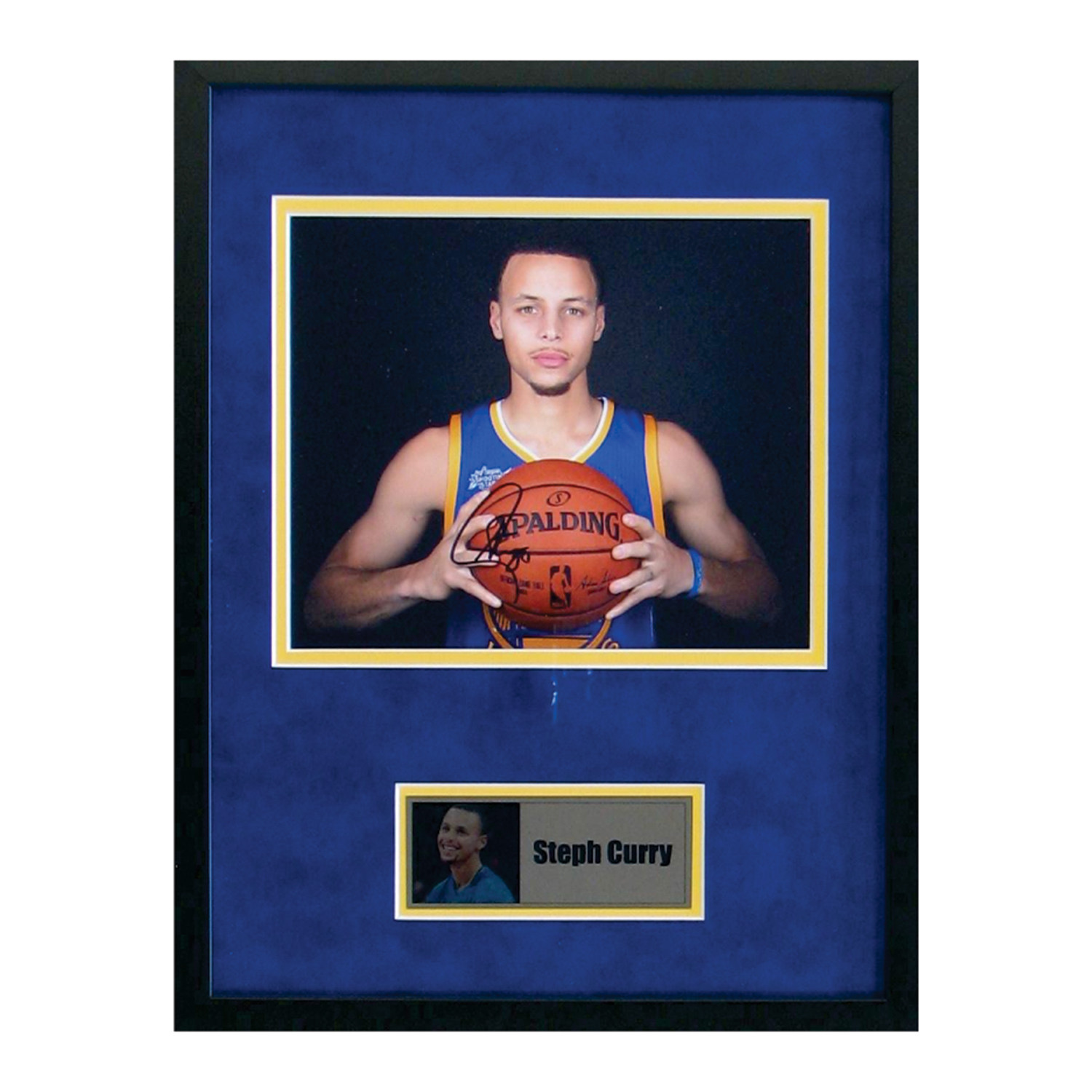 a6930aec9a4 3004c79f9c0c6ebdd4a8032842500218 medium. Shown in. Signed + Framed Photo    Stephen  Curry