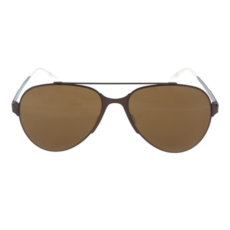 Unisex 113S Sunglasses // Matte Brown