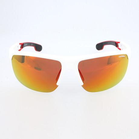 Chris Sunglasses // Matte White