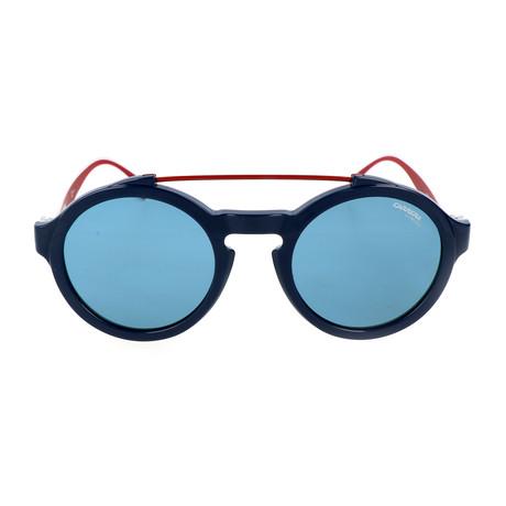 Elton Sunglasses // Blue + White