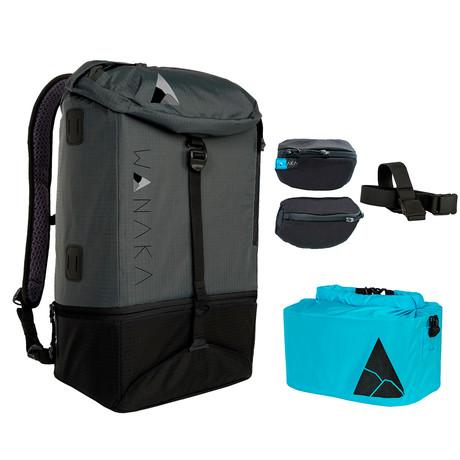 Adventure Longer Package // Charcoal, Black