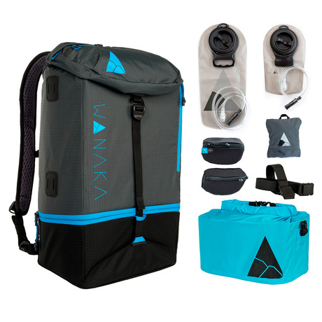 Complete Adventure Package // Charcoal, Blue