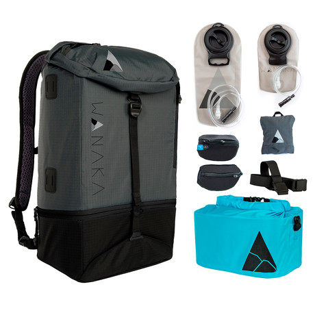Complete Adventure Package // Charcoal, Black