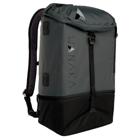 Adapt Backpack // Charcoal, Black