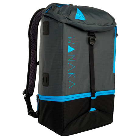 Adapt Backpack // Charcoal, Blue