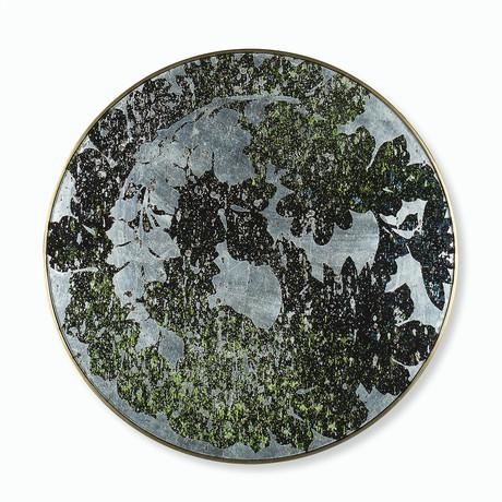 Silver Leaf Floral // Medium