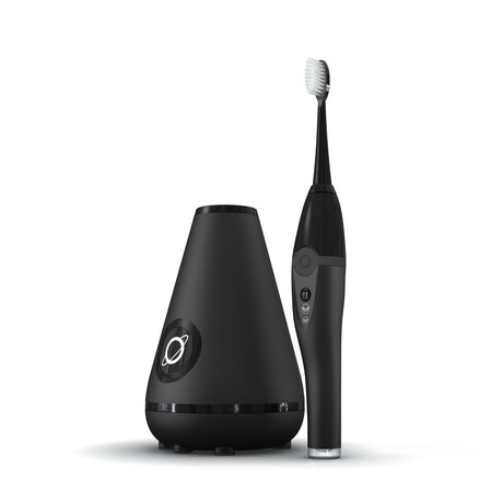 TAO Clean Sonic Toothbrush + Cleaning Station (Black)