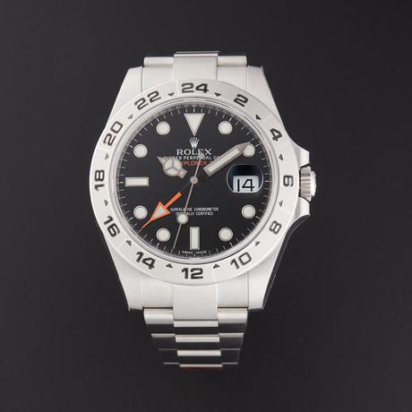Rolex Explorer II Automatic // 216570 // Random Serial // Store Display