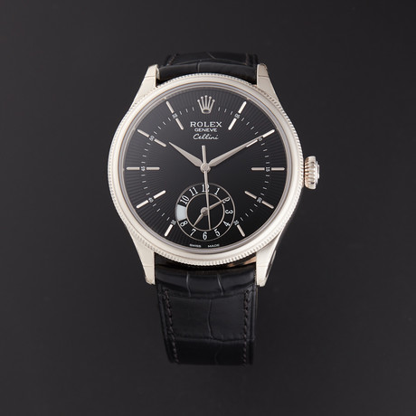 Rolex Cellini Dual Time Automatic // 50529 // Random Serial // Store Display
