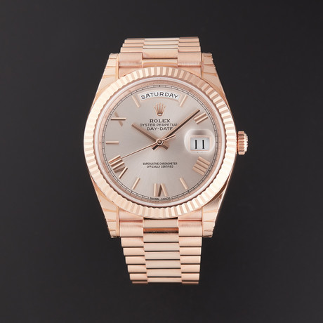 Rolex Day-Date Automatic // 228235 // Random Serial // Store Display