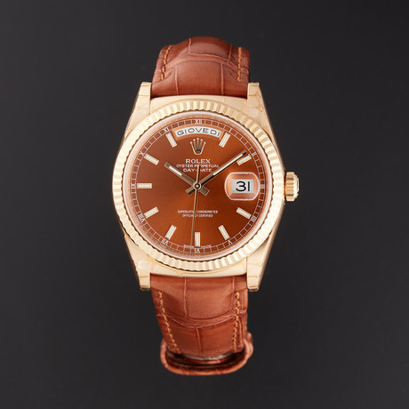 Rolex Day-Date Automatic // 118138 // Random Serial // Store Display