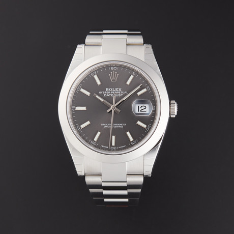 Rolex Datejust Automatic // 126300 // Random Serial // Store Display