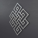 Endless Knot II 3D Metal Wall Art