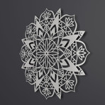 Mandala II 3D Metal Wall Art