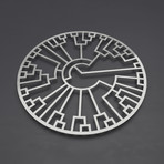 Phylogenetic Tree I 3D Metal Wall Art
