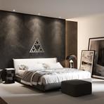 Sierpinski Triangle I 3D Metal Wall Art