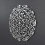 Tesseract 3D Metal Wall Art