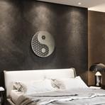 Yin Yang II Sacred Geometry 3D Metal Wall Art