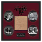 Signed + Framed Signature Collage // Addams Family