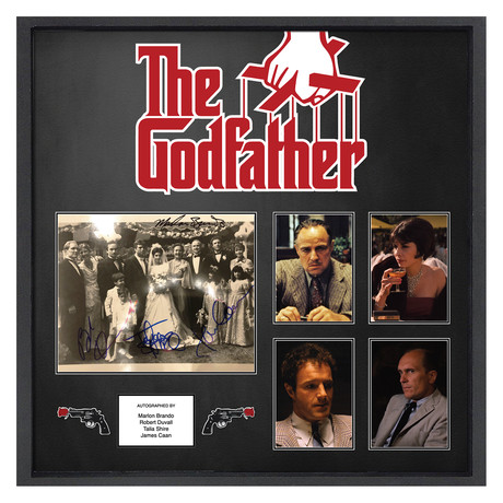 Signed + Framed Movie Poster // The Godfather
