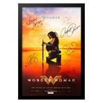 Signed + Framed Poster // Wonder Woman