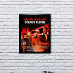 Signed Movie Poster // Oceans 11