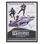 Signed + Framed Poster // Blues Brothers