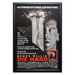 Signed + Framed Movie Poster // Diehard