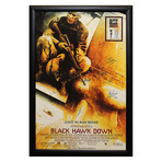 Signed + Framed Poster // Black Hawk Down
