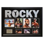 Signed + Framed Collage // Rocky