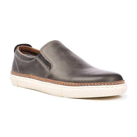 Tolan Leather Slip On // Grey (US: 7)