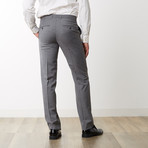 Slim Fit Wool Plaid Suit - Grey // Grey (US: 40R)