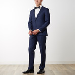 Merino Wool Suit // Midnight Blue (US: 48R)