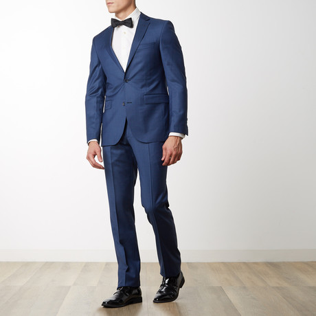 Merino Wool Suit // Dark Blue (US: 36R)