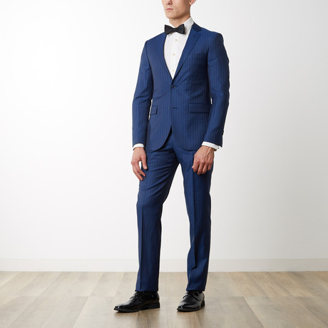 Merino Wool Suit // Navy (US: 36R)