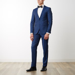Merino Wool Suit // Navy (US: 38R)